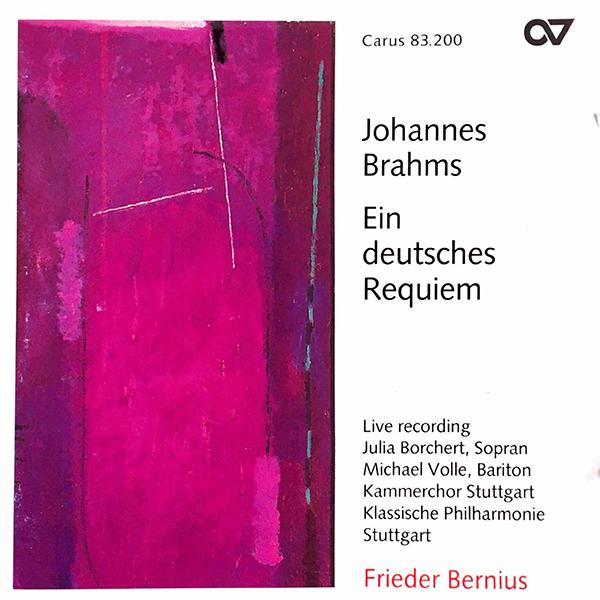 Brahms_Deutsches_Requiem_Bernius_Carus